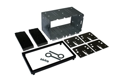 Autoleads DFPK-113 Car Audio Double DIN Facia Adaptor for Universal 113mm D.Din Cage kit Armour Group Plc