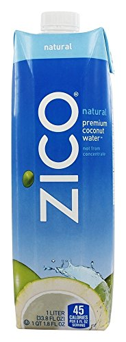 Zico - Pure Premium Coconut Water Natural - 1 Liter by Zi...