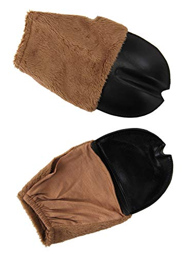 elope Brown Deer or Faun Costume Front Hooves