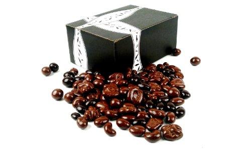 Marich Chocolate Nut Medley, 1 lb Bag in a BlackTie Box