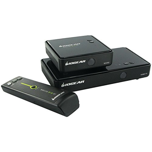 IOGEAR Wireless 3D Digital Kit with Full HD 1080P and 5.1 Channel Digital Audio, GW3DHDKIT