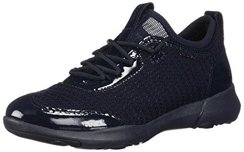 Navy B para D Azul sin C4002 X Cordones Nebula Mujer Geox Zapatillas qvtBwq7