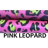 "Z-Stix Made to Order Handmade Juggling Sticks-Flower Sticks-Devil Sticks (Cruiser 27"",Pink Leopard)"