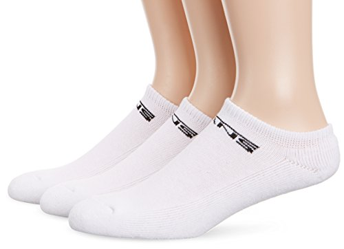 Vans Socks Mens Unisex Classic Kick 3 Pack White White (6.5-9)