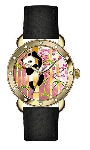 bertha-womens-bthbr4508-mop-lilly-gold-black-genuine-leather-strap-watch
