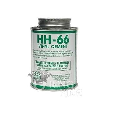 HH-66 Vinyl Cement for Swimming Pool Liner Repair Bonding Adhesive/Glue 8oz. can