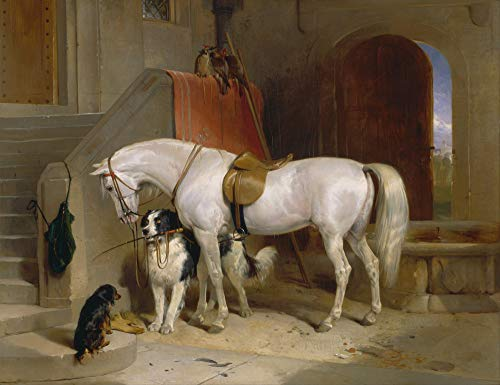 Sir Edwin Henry Landseer Favourites Horse Dog Farm 12