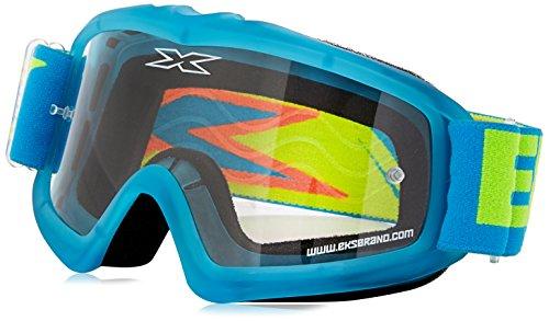 EKS Xgrom Series Masque de Motocross Mixte Enfant, Bleu