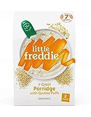 Little Freddie 7 Grain Porridge with Quinoa Puffs (2 Pack), 160 g, 12.6 x 5.7 x 20 cm