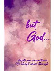 but God...: | Journal Notebook for Christian Devotions and Notes on How God Moves in Your Life