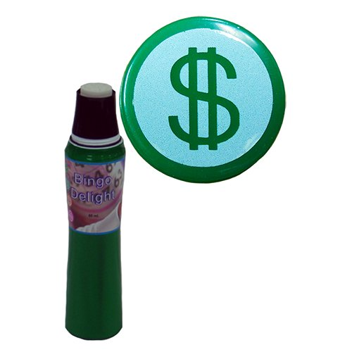 POWERDOT Bingo Delight Grün Dollar Zeichen Bingo Dauber