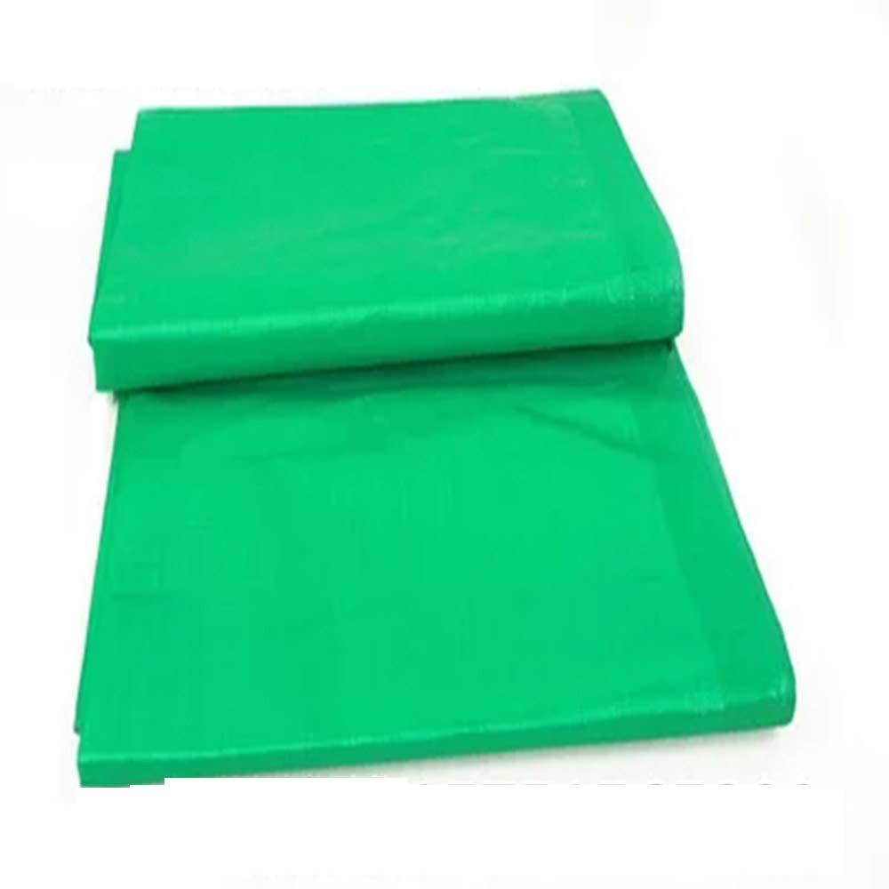 Wasserdichte Plane, dicker doppelter grüner Plastikregenproof wasserdichter Lichtschutzmarkisenstoff
