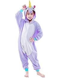 unisex children unicorn pyjamas halloween costume