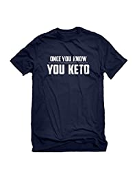 Indica Plateau Once You Know, You Keto Mens T-Shirt