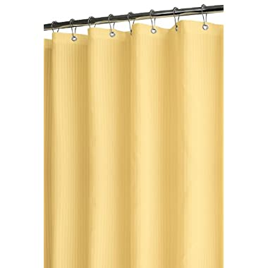 Park B. Smith Satin Stripe Shower Curtain, Maize