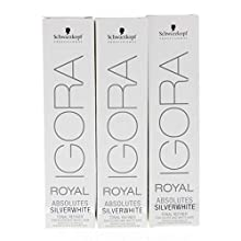 Igora Royal Absolutes Silverwhite Refinadores Tonales, Gris (Dove Grey) - 60 ml