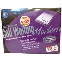 ACTIONTEC 56k V92 Ext Call Waiting Modem Ctlr Based Linux Compatible