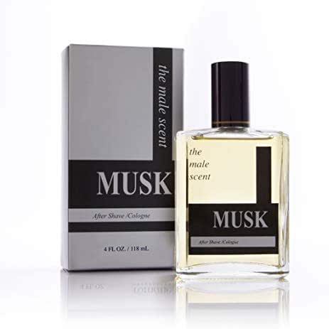 MUSK Cologne Spray - Woody and Earthy After Shave - Bold Masculine Fragrance - Citrus, Mandarin, Lemon, Grapefruit, Lily of the Valley, Wood & Musk - 3.4 oz
