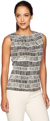 Calvin Klein Women's Petite Printed Sleeveless Cami
