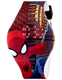 Marvel Ultimate Spider-Man SPD1432 Reloj digital con movimiento de cuarzo para niños