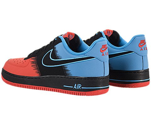 NIKE Air Force 1  Spiderman  Men Sneakers LT Crimson Vivid - Import ... de9d4a9d0
