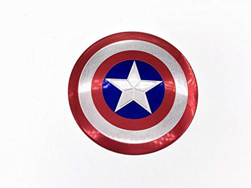 - 3D Metal Captain America Shield Car Auto Trunk Rear Emblem Badge Decal Sticker