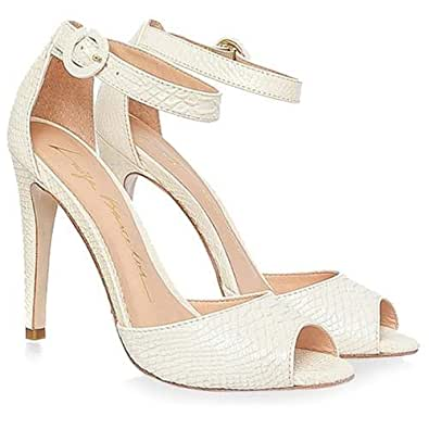 Luiza Barcelos White Heel For Women