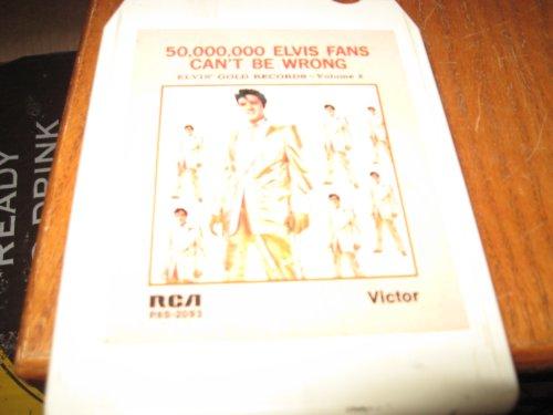 Elvis Gold Records Vol.2 8 Track Tape Vol 2 8 Track Tape