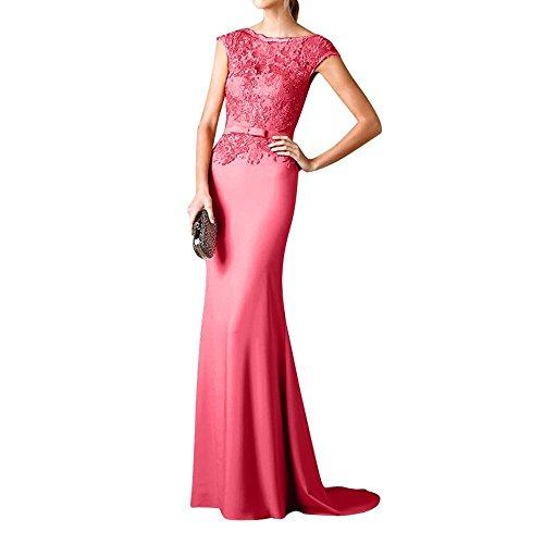 Brautmutterkleider Langes 2018 Brau Promkleider Wassermelon Partykleider mia Etuikleider La Abschlussballkleider Abendkleider Aq1txH8Tnw