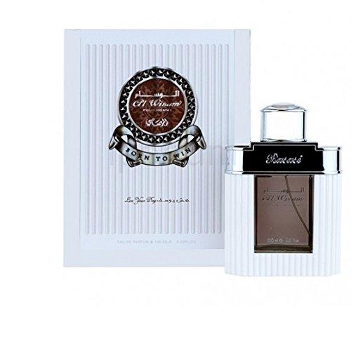 Al Wisam Day Spray Perfume (White) 100 ml By Rasasi Dubai for men