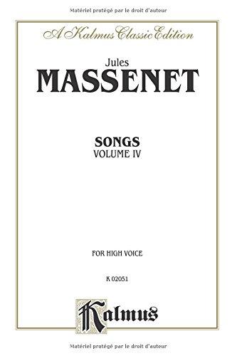 Songs For High Voice 4 (Kalmus Edition)  (Tapa Blanda)