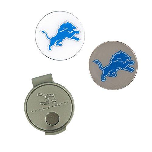 Team Effort NFL Detroit Lions Hat Clip & 2 Ball Markers