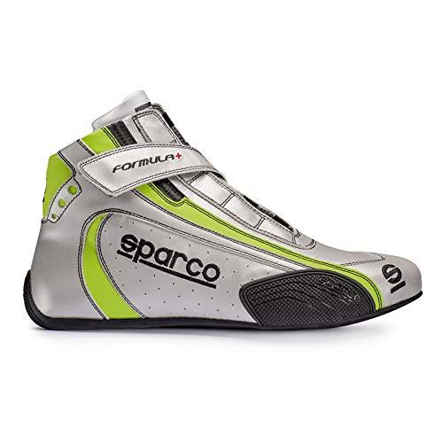 (Sparco 00121140SIVD Discontinued: Shoe - Formula+ Sl8 40 Slv)