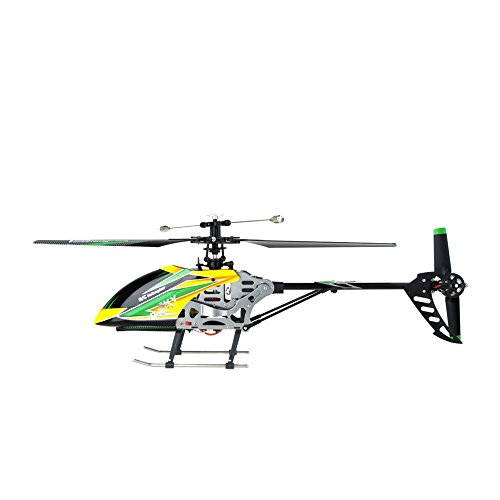 WLtoys Large V912 4CH Single Blade RC Remote Control Helicopter With Gyro RTF]()