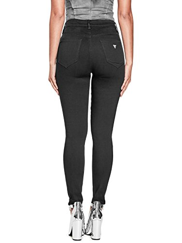GUESS Factory Women's Uri Lace-Up Skinny Jeans