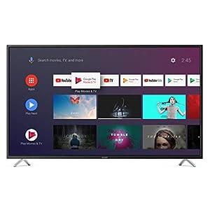"Sharp Aquos 4T-C40BL2EF2AB - 40"" Smart TV 4K Ultra HD Android 9.0, Wi-Fi, DVB-T2/S2, 3840 x 2160 Pixels, Nero, suono Harman Kardon, 4xHDMI 3xUSB, 2019 18"