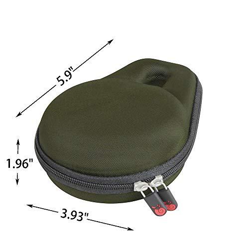 Hermitshell Travel Case Fits JBL Clip 3 Portable Waterproof Wireless Bluetooth Speaker (Forest Green)