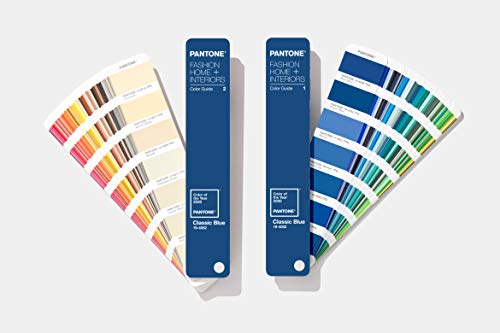 Pantone FHIP110COY20 FHI Color Guide - Home + Interiors 2020 Limited Edition Color of The Year Guide - Classic Blue,pantone