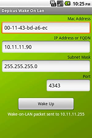Amazon com: Depicus Wake On Lan: Appstore for Android