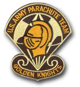 (US ARMY PARACHUTE TEAM 3