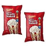 popcornopolis organic popcorn - Popcornopolis (2 PACK) Organic Nearly Naked Popcorn 14oz Bag Each