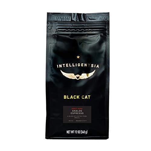 Intelligentsia Whole Bean Coffee, Black Cat Analog Espresso, Dark Roast, Roasted Fresh to Order, 12oz