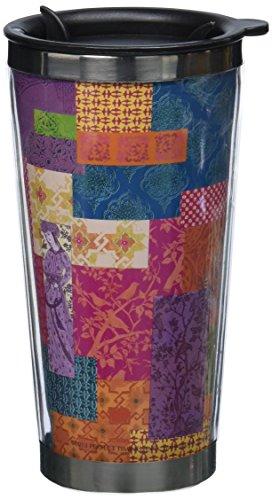 Lang Artisan Potpourri Traveler Mug, Multicolor