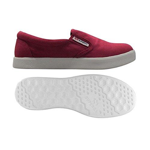 Superga 4498 COTU - Zapatillas Mujer Cerise