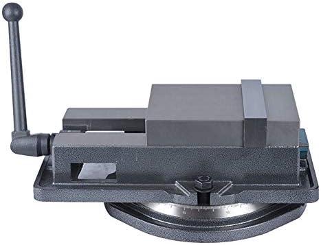 回転ベースを備えた万能のヘビーデューティ精密フライスロックバイス、強力なクランプ力があり、ワイヤーの取り扱いや精密部品の仕上げに最適