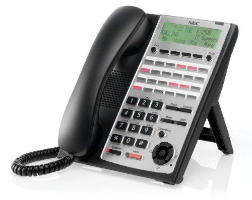 NEC SL1100 SL1100 24-Button Full-Duplex Tel (Black) NEC-1100063