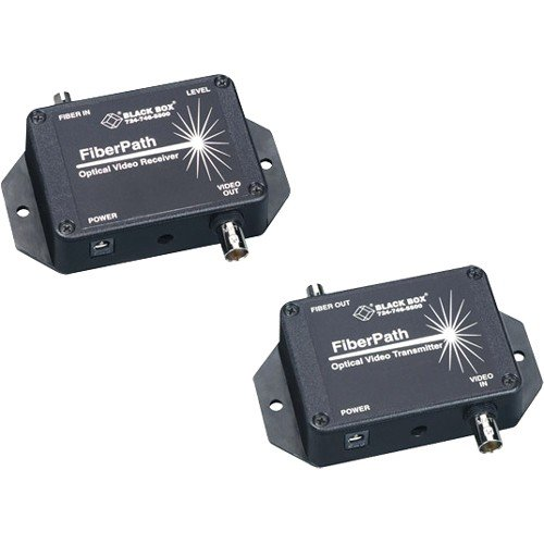 Black Box AC444A Box FiberPath Video Console/Extender - 1 x 1 - NTSC - 2.4km by Black Box