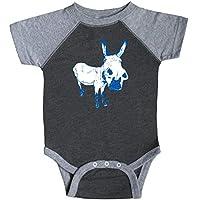 inktastic Cute Democratic Donkey Proud Blue Infant Creeper