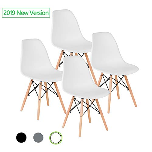 Mastery Mart Dining Chairs Set of 4, Modern Mid Century for sale  Delivered anywhere in Canada