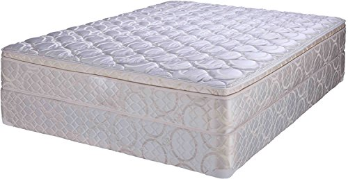 Sleep Innovations Revor 12ET-21 12-inch King Size Spring Mattress (White, 78x72x12)